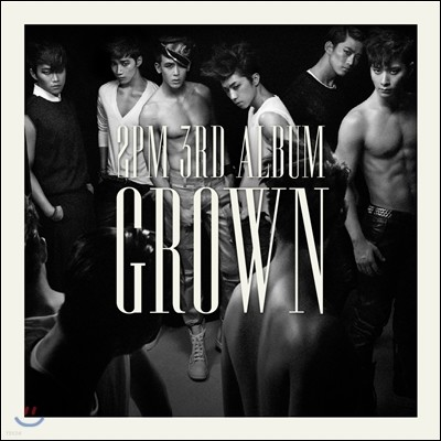 2PM 3집 - Grown [B버전]