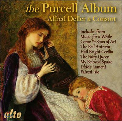 Alfred Deller 알프레드 델러 - 퍼셀 오페라 아리아 모음집 (The Purcell Album)