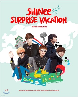 샤이니 트래블 노트 : SHINee Surprise Vacation Travel Note 01