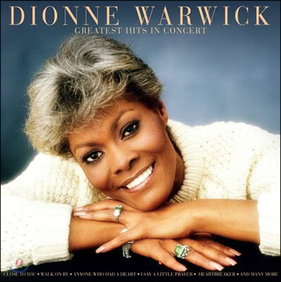 Dionne Warwick (디온 워윅) - Greatest Hits In Concert [LP]