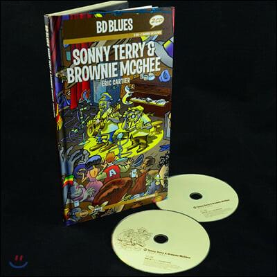 일러스트로 만나는 소니 테리 & 브라우니 맥기 (Sonny Terry & Brownie McGhee Illustrated by Eric Cartier 에릭 카르티에)