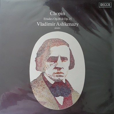 (LP엘피) 쇼팽: Etudes, Op.10 & Op.25 ..(Vladimir Ashkenazy)