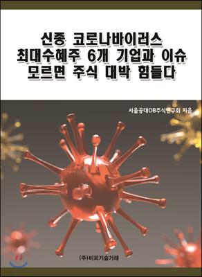 신종 코로나바이러스 최대수혜주 6개 기업과 이슈 모르면 주식 대박 힘들다