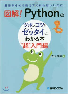 """圖解!Pythonのツボと """"超""""入門編"""