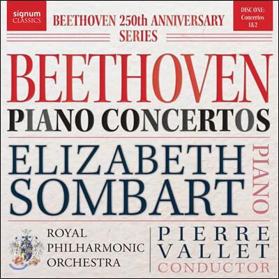 Elizabeth Sombart 베토벤: 피아노 협주곡 1, 2번 (Beethoven: Piano Concertos Nos. 1 & 2)