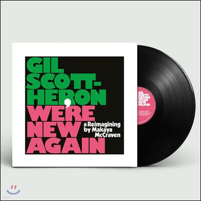 Gil Scott-Heron (길 스콧 헤론) - We're New Again: A Reimagining By Makaya McCraven [LP]