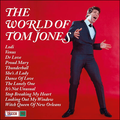 Tom Jones (톰 존스) - The World of Tom Jones [LP]
