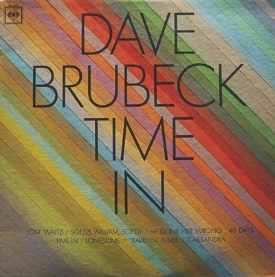 [LP] Dave Brubeck - Time In