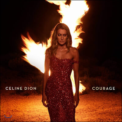 Celine Dion (셀린 디온) - 12집 Courage [루비 레드 컬러 2LP]