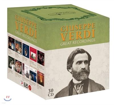 베르디 그레이트 레코딩스 (Verdi: The Great Recordings)