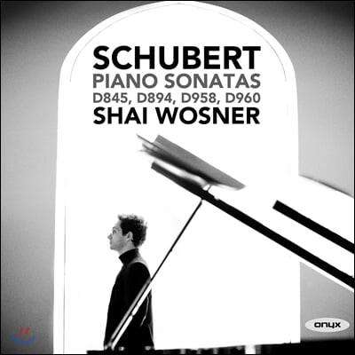 Shai Wosner 슈베르트: 피아노 소나타 (Schubert: Piano Sonatas D854, D894, D958, D960)