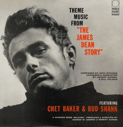 Chet Baker, Bud Shank - Theme Music From 'The James Dean Story' (O.S.T) (Japan 수입)