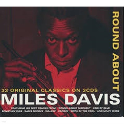 [수입] Miles Davis - Round About [3CD][Digipack]