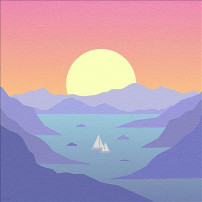 Surfaces - Horizons (Red Vinyl)(LP)