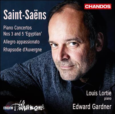 Louis Lortie 생상스: 피아노 협주곡 3, 5번 (Saint-Saens: Piano Concertos Op. 29, 103)