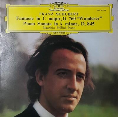 (LP엘피) 슈베르트 방랑자 환상곡. 피아노소나타 D.845 - 폴리니