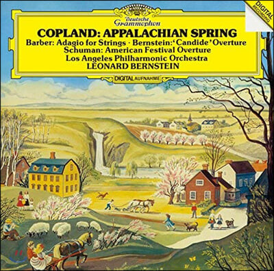 Leonard Bernstein 코플랜드: 아팔라치아의 봄 / 바버: 현을 위한 아다지오 / 레너드 번스타인: 캔디드 서곡
