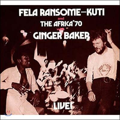 Fela Kuti (펠라 쿠티) - Fela With Ginger Baker Live! [LP]
