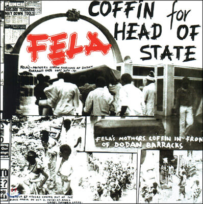 Fela Kuti (펠라 쿠티) - Coffin for Head of State [LP]