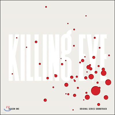 킬링 이브 시즌 1 드라마음악 (Killing Eve Season One OST) [화이트 & 레드 스플래터 컬러 2LP]