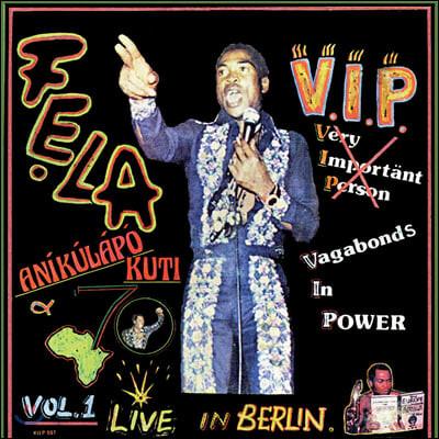 Fela Kuti (펠라 쿠티) - V.I.P. [LP]
