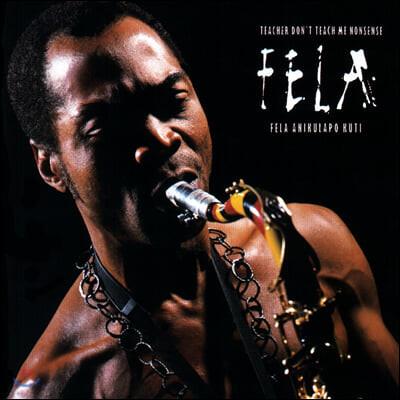 Fela Kuti (펠라 쿠티) - Teacher Don't Teach Me Nonsense [LP]
