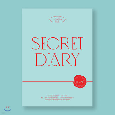 아이즈원 (IZ*ONE) - SECRET DIARY [CALENDAR PACKAGE]