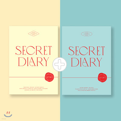 아이즈원 (IZ*ONE) - SECRET DIARY [PHOTOBOOK + CALENDAR PACKAGE SET]