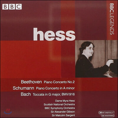 Myra Hess 베토벤 / 슈만: 피아노 협주곡 (Beethoven / Schumann: Piano Concerto)