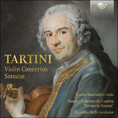 Laura Marzadori 주세페 타르티니: 4중주 소나타, 바이올린 협주곡 (Giuseppe Tartini: Violin Concertos, Sonatas)