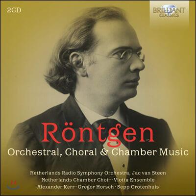 Viotta Ensemble 율리우스 뢴트겐: 관현악, 실내악 모음집 (Julius Rontgen: Orchestral, Choral & Chamber Music)