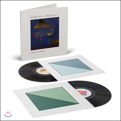 Brian Eno / Roger Eno (브라이언 & 로저 이노) - Mixing Colours [2LP]