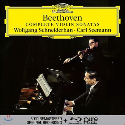 Wolfgang Schneiderhan / Carl Seemann 베토벤: 바이올린 소나타 전곡집 (Beethoven: Complete Violin Sonatas)