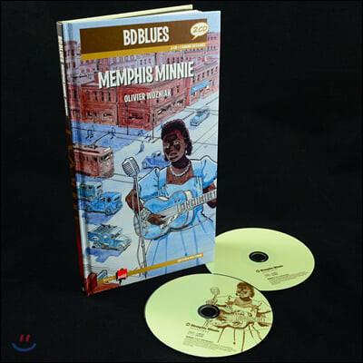 일러스트로 만나는 멤피스 미니 (Memphis Minnie Illustrated by Olivier Wozniak)