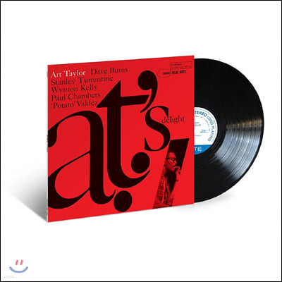 Art Taylor (아트 테일러) - AT's Delight [LP]