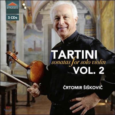 Crtomir Siskovic 타르티니: 무반주 바이올린 소나타 2집 (Tartini: Sonatas for solo violin Vol. 2)