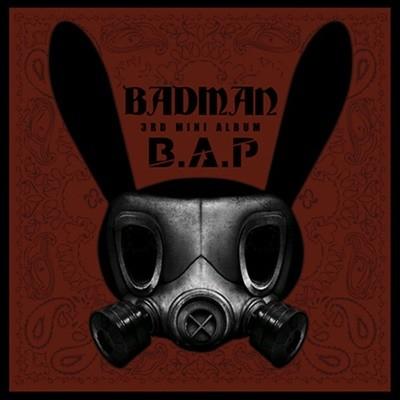 비에이피 (B.A.P) - Badman (3rd Mini Album)(48P 내지+마토끼모양 스텐실 포함)