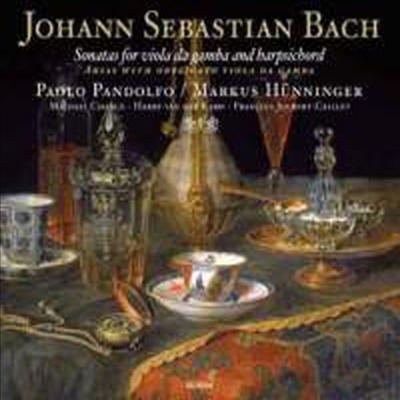 바흐 : 비올라 다감바와 하프시코드를 위한 소나타 (Bach: Sonatas for Viola da Gamba & Harpsichord & Arias with obbligato viola da gamba) - Paolo Pandolfo