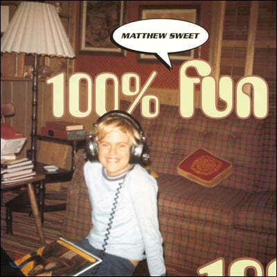Matthew Sweet (매튜 스위트) - 100% Fun [오렌지 컬러 LP]