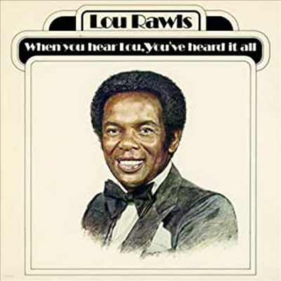 Lou Rawls - When You Hear Lou, Youve Heard It All (CD-R)