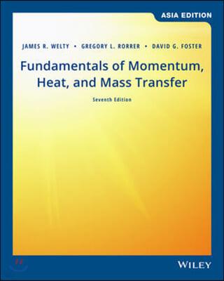 Fundamentals of Momentum Heat & Mass Transfer, 7/E