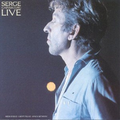 Serge Gainsbourg - Live (CD)