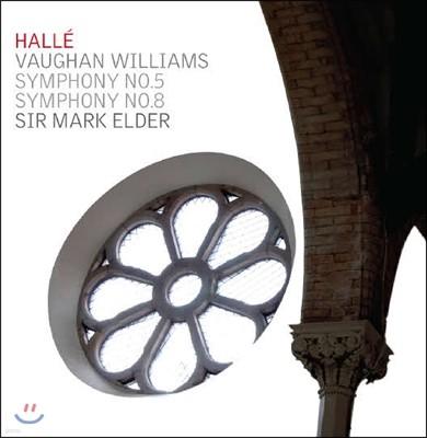 Mark Elder 본 윌리엄스 : 교향곡 5, 8번 - 할레오케스트라 (Vaughan Williams : Symphonies Nos. 5 & 8)