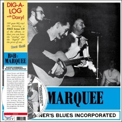 Alexis Korner's Blues Incorporated (알렉시스 코너 블루스 인코포레이티드) - R&B From The Marquee [LP+CD Deluxe Edition]