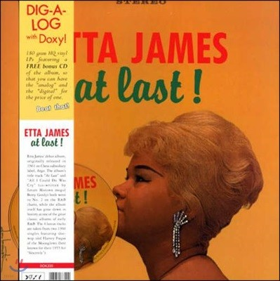 Etta James - At Last ! [LP+CD]