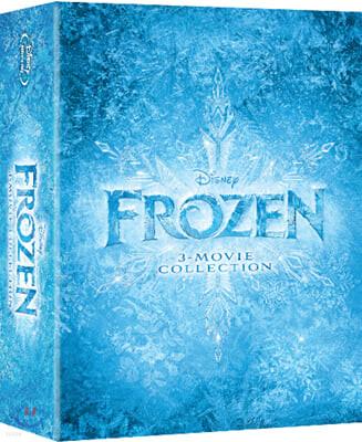 겨울왕국 3-Movie Collection (3Disc) : 블루레이