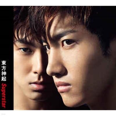 [일본반] 동방신기 (東方神起) - Superstar [CD+DVD][자켓 사이즈 카드 1매 포함]
