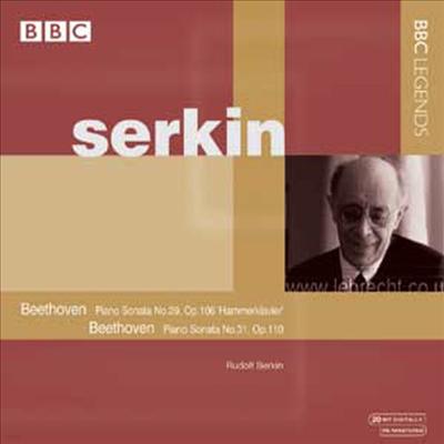 베토벤 : 피아노 소나타 No.29 Op.106 '함머클라비어' & 피아노 소나타 No.31 Op.110 (Beethoven : Piano Sonata No.19 In B Flat Major, Op.106 'Hammerklavier') - Rudolf Serkin