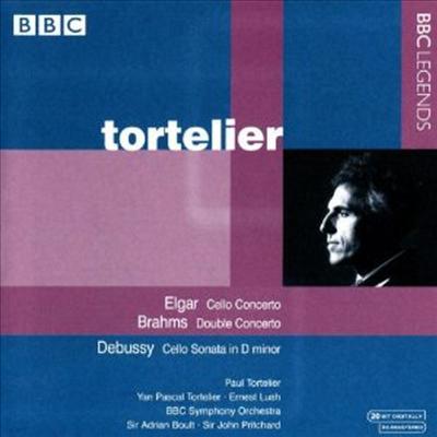엘가 : 첼로 협주곡, 브람스 : 이중 협주곡 & 드뷔시 : 첼로 소나타 - Paul Tortelier
