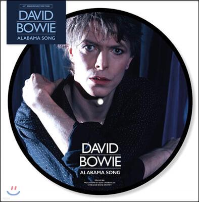 David Bowie (데이빗 보위) - Alabama Song / Joe The Lion [7인치 픽쳐디스크 Vinyl]
